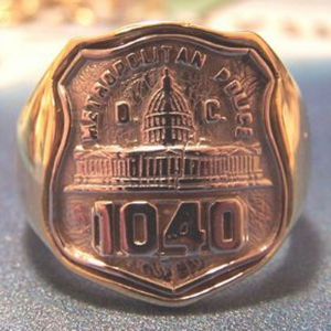 Picture of Police Washington D.C. Rings