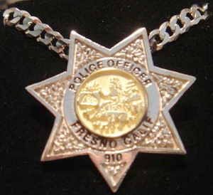 Picture of Police Fresno Califonia pendants Rings
