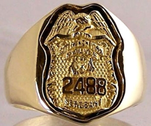 Picture of Police NYC Sergeant Rings
