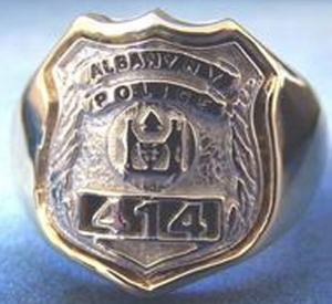 Picture of Police Albany New York Rings