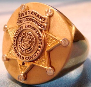 Picture of Sheriff Oakfield County Sheriff Department Ring