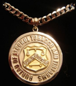 Picture of A.T.F. Alcohol Tobacco And Firearms Pendant