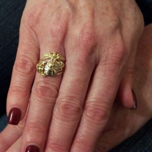 Picture of US Marine Corps USMC Womans Rings