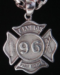 Picture of Firefighter Teaneck NJ Pendants