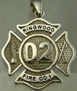 Picture of Firefighter Ringwood NJ Pendants Rings