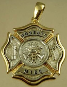 Picture of Firefighter Modesto Pendants Rings