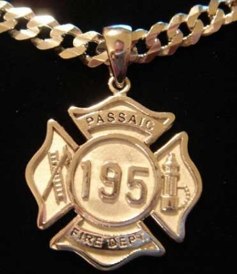 Picture of Firefighter Passaic NJ Rings Pendants