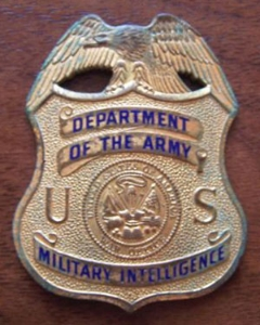 Picture of US Army Intel Police Military Ring