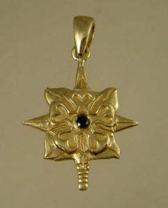 Picture of US Army Intelligence Military Pendant