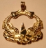 Picture of US Navy Submarine Dolphin Custom Pendent