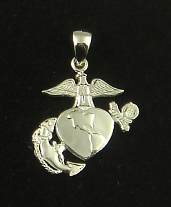 Picture of US Marine Corps USMC Womans Pendant II