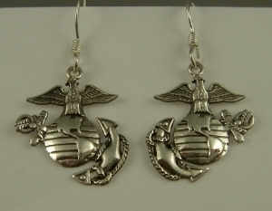 Picture of US Marine Corps USMC Earrings