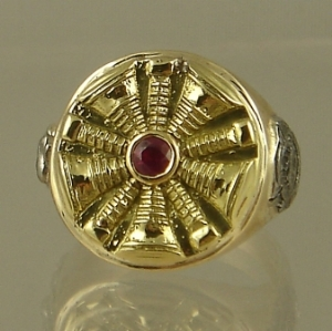 Picture of Firefighter Chiefs Rings