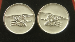 Picture of US Navy UDT SEAL Trident Cufflinks