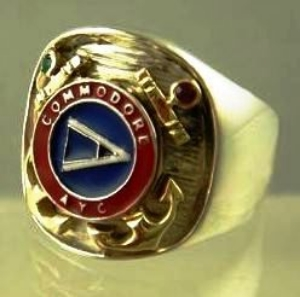Picture of Atlantic Yacht Club Commadore Ring