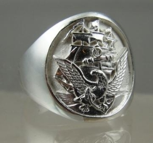 Picture of  US Navy Seal Military Official Ring