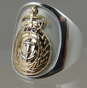 Picture of Royal Navy Senior Rate Ring