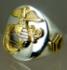 Picture of US Marine Corps USMC Custom Military Ring