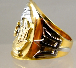 Picture of Merchant Marine Officer Ring