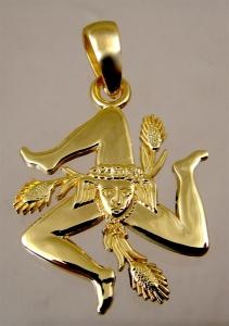 Picture of Sicilian Trinacria Pendant