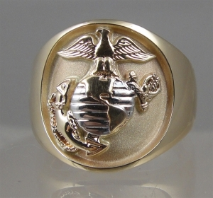 Picture of US Marine Corps USMC Classic Licensed Ring