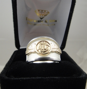 Picture of US Navy Marine Corps air crew ring