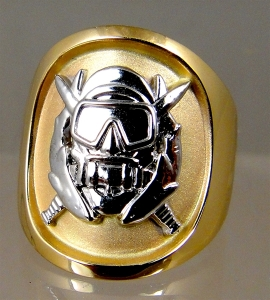 Picture of  US Army Special Forces Delta Special Operations Diver Military Ring