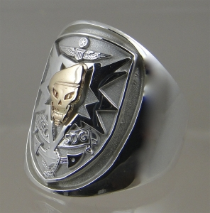 Picture of  US Navy Special Warfare MAC V SOG Ring