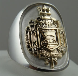 Picture of US Navy Naval Academy Officer Ring