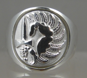 Picture of French Foreign Legion 2nd Foreign Parachute Regiment Military ring