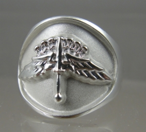 Picture of  US Army HALO Jump Military Ring