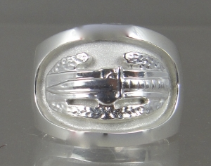 Picture of US Army Combat Action Military ring