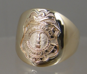 Picture of  Firefighter Columbus OH Rings
