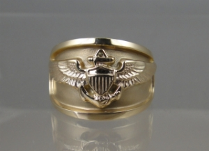Picture of US Navy Aviator Ring