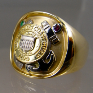 Picture of US Coast Guard Military Ring