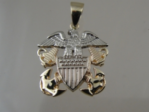 Picture of  US Navy Officer Pendant Small