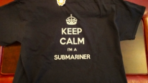 Picture of US Navy Submarine Dolphin T-Shirt Keep Calm I'm a Submariner