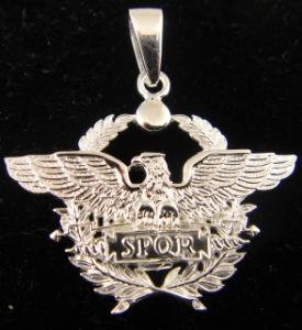 Picture of SPQR Roman Legion Eagle Pendant Small