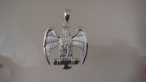 Picture of SPQR Roman Legion Eagle Fasces Pendant