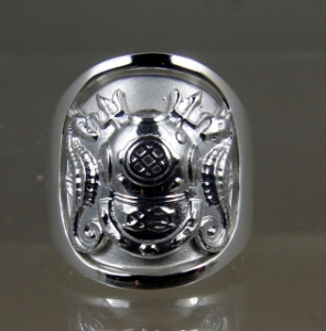 Picture of US Navy Licensed Master Diver Ring