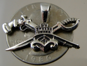 Picture of US Navy SEAL Special Warfare Combatant Craft Crewman SWCC Basic Pendant