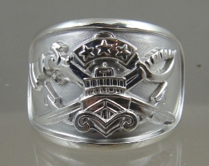 Picture of US Navy Special Warfare Combatant Craft SWCC Boat Patrol Master Ring