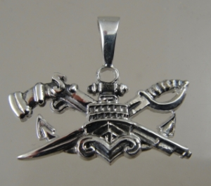 Picture of  US Navy SEAL Special Warfare Combatant Craft Crewman SWCC Boat Captain Pendant