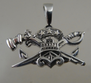 Picture of  US Navy SEAL Special Warfare Combatant Craft Crewman SWCC Patrol Officer Pendant
