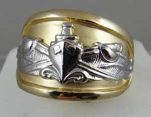 Picture of US Navy Surface Warfare Ring