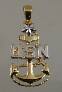 Picture of US Navy Senior Chief E-8 Pendant