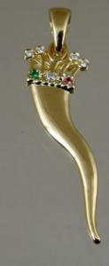 Picture of Italian Horn Cornicello Pendant