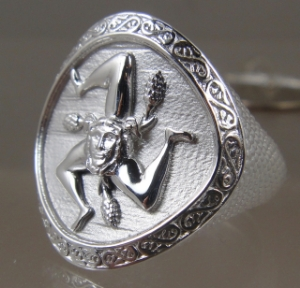 Picture of Sicilian Trinacria Ring new