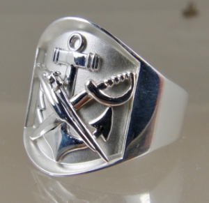 Picture of  US Navy Special Warfare Combatant Craft SWCC Rate Ring