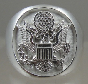 Picture of US Army Military ring